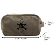 ArgyleBoy Canvas Shower Kit Travel Toiletry Bag Case