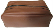 Coach Men's Weekend Travel Kit in Leather F93445 Dark Saddle