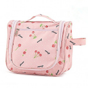 AoMagic Camouflage Men's and Women's Big Capacity Toiletry PinkCheery Bag