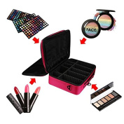 Cosmetic Beauty Queen Three Portable Professional Makeup Cosmetics Cases Toolbox