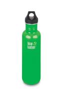 KLEAN KANTEEN Classic 800ml Travel Water Bottle w/Loop Cap - ORGANIC GARDEN