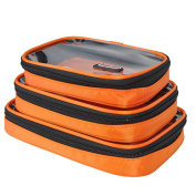 3 PCS Packing Cubes for Travel - Luggage Accessories Organisers