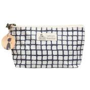 DZT1968 New Flax waterproof cosmetic bag fashion cosmetic bag