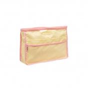 DZT1968 Portable Travel Cosmetic Bag Makeup Case Pouch Toiletry Wash Organiser