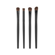 MakeUp Brush Set,Siniao 4Pcs Cosmetic Eyebrow Eyeshadow Brush Makeup Brush Sets Kits Tools