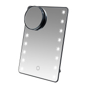 Miss Sweet LED Lighted Makeup Mirror,10X & 1800cm