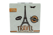 Love Paris Eiffel Tower Art Design Double Side Compact Mirror