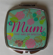 Set of 12 Lovely Colourful Design Fashion Pocket Make Up Compact Mirrors