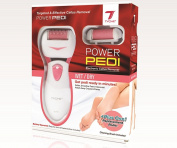 Tyche Power Pedi Electronic Callus Remover Requires 2 AA Batteries