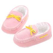 Binmer(TM) New Cute Coral Fleece Anti-slip New Born Baby Shoes Casual Shoes
