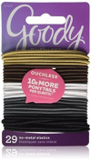 Goody Ouchless Braided Hair Elastics, Neutral, 29 Count by Goody Ouchless