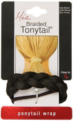 Mia Beauty Braided Tonytail Pony Tail Wrap, Dark Brown, 0ml by Mia Beauty