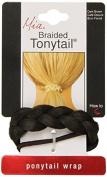 Mia Beauty Braided Tonytail Pony Tail Wrap, Dark Brown, 0ml by Mia Beauty