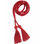 Red Honour Cords Polyester Yarn