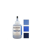 GLASSLINE Fusible Glass COBALT BLUE Bubble Colour Paint Pen 60ml