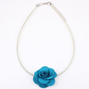 Beautiful Fabric Flower Chocker/Necklace for Weddings/New Year Party/Birthdays/Christmas