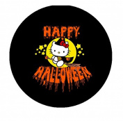 Happy Halloween HK Pinback Button Brooch 3.2cm