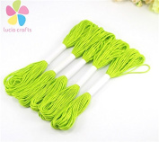 6pcs/lot 7m Multi colours option anchor cross stitch embroidery cotton embroidery thread