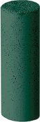 Unmounted Gold Polisher, Cylinder, Green, Medium Grit, 12 Pack