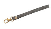Replacement Goldtone Buckle Cowhide Genuine Leather Wrist Strap for Clutch Wristlet Purse Pouch
