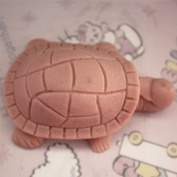 Let'S Diy Cute Tortoise 3D Silicone Non-Stick Handmade Soap Candle Moulds