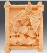 Let'S Diy Butterfly Flowers Handmade Soap Mould Silicone Candle Moulds