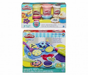 Play-Doh Sweet Shoppe Cookie Creations Play Set + Play-Doh Confetti Compound Bundle