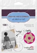 Scrapbook Adhesives by 3L 01630-MP 3L Scrapbook Adhesives Self-Adhesive Creative Paper Photo Corners, Kraft, 108 Pack - Set of 10