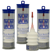 3-Pack Bundle of Roxanne Glue Baste It EZ Squeeze 30ml