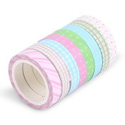MyLifeUNIT Washi Tape DIY Sticker, Self Adhesive Cartoon Washi Masking Tape Sticker Craft Decor Decorative