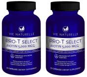 Vie Naturelle Biotin For Hair Growth 5,000 MCG - Super Potency Hair Loss Vitamins