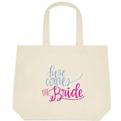 Here Comes the Bride Wedding Bride Tote Bag