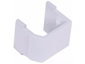 Hubbell SFBW10 No Ports - Snap-On Blank Keystone Insert (10 Pack), Office White