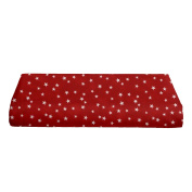 BKB Changing Pad Cover, Lucky Stars Red