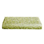 BKB Changing Pad Cover, Scribble Time Lime