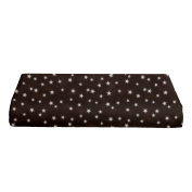 BKB Changing Pad Cover, Lucky Stars Chocolate