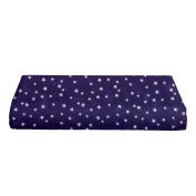 BKB Changing Pad Cover, Lucky Stars Purple