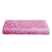 BKB Changing Pad Cover, Scribble Time Hot Pink