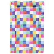 JoJo Maman Bebe Print Changing Mat, Bright Squares