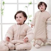 Nine States Kid Sleep Sack Cotton Detachable Sleeves Wearable Blanket,X-large