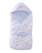 Bestwoohome Cotton Baby Swaddle Wrap Blanket Shower Gift
