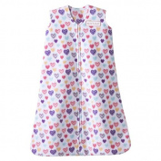 HALO SleepSack Micro-Fleece Wearable Blanket - Colourful Hearts - Medium