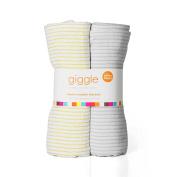 giggle Muslin Swaddle Blanket - 2-Pack