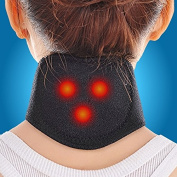 CLYH Tourmaline Magnetic Therapy Neck Massager Cervical Vertebra Protection Spontaneous Heating Belt Body