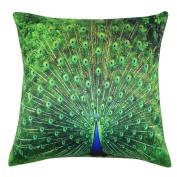 Pillow Case,Dirance(TM) Home Decor Peacock Pillow Case Sofa Waist Throw Cushion Cover