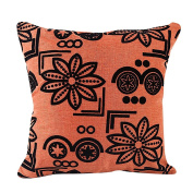 Pillow Case,Dirance(TM) Home Decor Flower Printed Square Pillow Cover Bed Sofa Waist Throw Cushion Cover