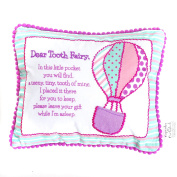Balloon Tooth Fairy Pocket Pillow