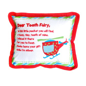 Helicopter Tooth Fairy Pocket Pillow