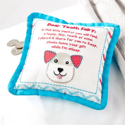 Puppy Tooth Fairy Pocket Pillow