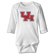 Houston Cougars Logo Cute Baby Onesie Cotton Cute Baby Clothes